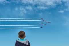Red Arrows Fly Past, UK