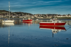 Conwy Estuary, Wales, UK