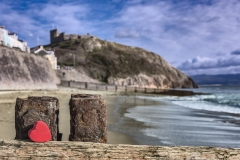Cricceith Castle, Snowdonia, Wales, UK