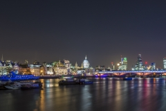 London Night Skyline, UK